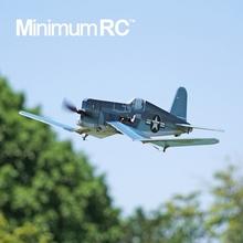 MinimumRC F4bj9 战斗机ou 海盗遥控模型像真拼装二战机