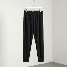 很软不皱 出口欧美外贸男装剪标尾单男士夏季薄款运动休闲收口裤