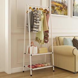 衣帽架鞋架组合进门落地收纳架放衣服的架子家用挂衣架客厅移动