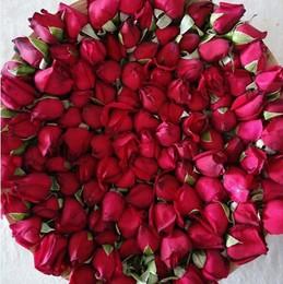 墨红玫瑰可食用花蕾云南鲜玫瑰花骨朵花苞非花瓣500g做纯露酱酵素