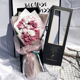 520生日礼物女生特别实用送女友浪漫走心的仿真花情人节香皂花束