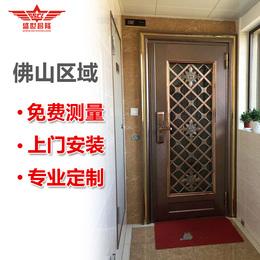 不锈钢门单门304进户大门防盗门入户门玻璃门单开门农村对开大门