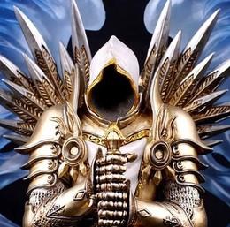 魔兽世界 秋叶原动漫  暗黑3手办 雕像 大天使泰瑞尔 手办模型