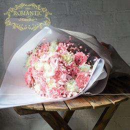 森女阳光浪漫康乃馨绣球粉满天星生日祝福花束 送妈妈送女孩鲜花