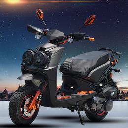 BWS150CC踏板摩托车山猫本田款式风冷越野燃油路虎助力车公路跑车