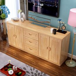 实木电视柜简约松木电视机柜组合家具现代田园客厅柜卧室柜储物柜