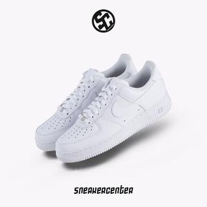 耐克Nike Air Force 1 AF1 全白空军一号男鞋运动板鞋 315122-111