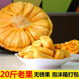 当天发20斤海南三亚新鲜水果菠萝蜜菠罗蜜波罗蜜大树菠萝假榴莲