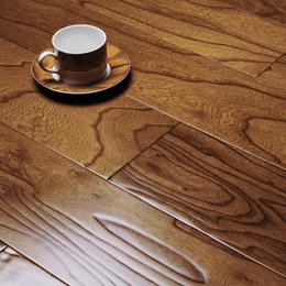 多层实木复合地板地暖地热锁扣厂家直销榆木浮雕卧室家用E0级环保