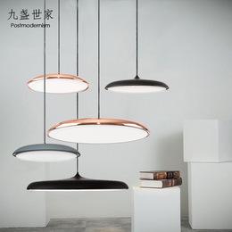 丹麦极简吊灯北欧现代餐桌吊灯简约风格餐厅灯饰创意吧台饭厅灯具