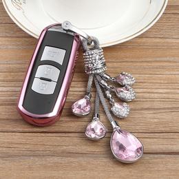 马自达3昂克赛拉钥匙包套阿特兹cx5星骋6汽车硅胶钥匙壳扣cx4女