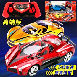 奥迪双钻遥控汽车玩具充电锂电池雷速登闪电冲线3高端飓风刃赛车