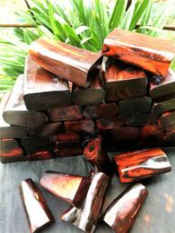 老挝大红酸枝红木雕刻料弹弓木料变异炫彩料水波工艺料珠子料