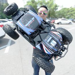 大号遥控汽车越野车四驱充电动耐摔高速攀爬大脚车男孩子儿童玩具