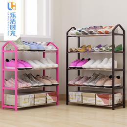 简易多层鞋架家用经济型宿舍寝室防尘收纳鞋柜省空间组装小鞋架子