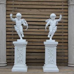 欧式丘比特小孩天使人物雕塑婚庆迎宾挂件天使酒店柱头雕像摆件