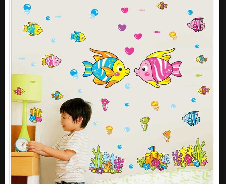 儿童房的那些漂亮墙贴