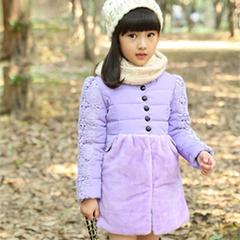 冬季免洗加厚棉衣童装外套男女童宝宝保暖棉袄轻薄儿童羽绒棉服