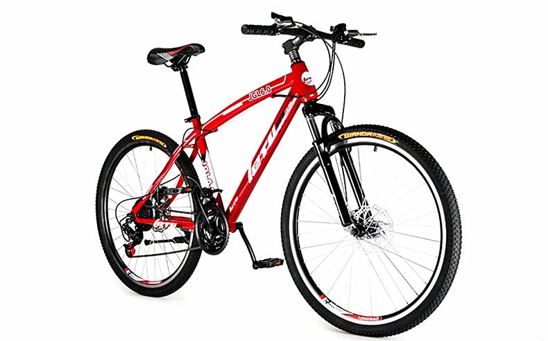 乐途21速山地车自行车男双碟刹减震变速自行车学生单车自行车女式