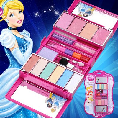 迪士尼公主正品儿童化妆品套装