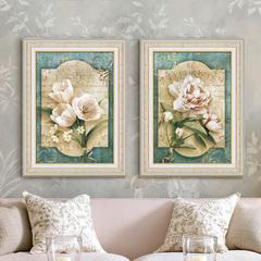 欧式古典花卉有框装饰画
