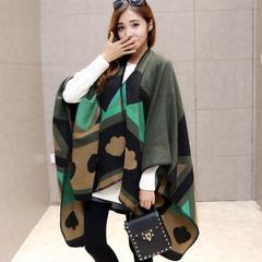 秋冬季毛线围巾