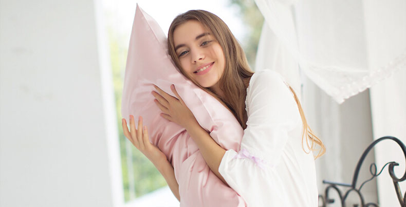 银桑22姆米真丝枕巾100%桑蚕丝枕巾枕套加厚丝绸100蚕丝枕巾新品