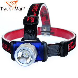 TrackMan LED头灯 <span class=H>CREE</span> 强<span class=H>光头</span>灯 户外野营头灯 矿灯 钓鱼头灯