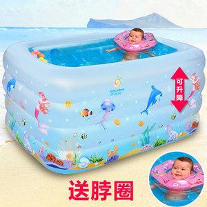婴儿<span class=H>游泳</span><span class=H>池</span>家用幼<span class=H>儿童</span>宝宝加厚<span class=H>充气</span>保温<span class=H>游泳</span>戏水<span class=H>池</span>新生儿洗澡浴盆