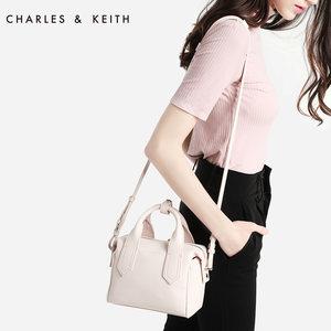 CHARLES&KEITH <span class=H>手提</span><span class=H>包</span> CK2-50150617 欧美<span class=H>通勤</span>单肩<span class=H>包</span>手拎<span class=H>女</span><span class=H>包</span>