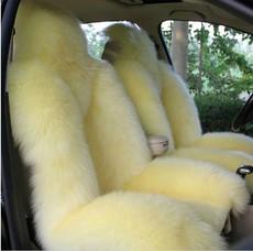冬季纯羊毛真皮汽车坐垫 毛绒坐套皮毛一体宝马x1x35奥迪q3q5座套