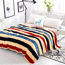 夏季空调午睡毯法兰绒毛毯珊瑚绒毯子单双人薄款 绒床单沙发毯盖毯