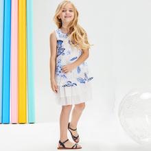 女童时髦连衣裙夏装2019夏季新款儿童装超洋气女孩裙子无袖公主裙