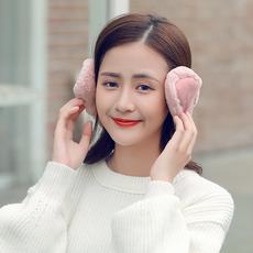 耳罩男女冬季韩版潮时尚可爱耳包学生情侣加厚防寒保暖可折叠耳套