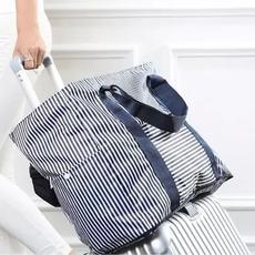可折叠大容量旅行袋便携单肩手提包女可套拉杆行李箱旅游收纳袋