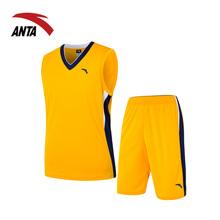 安踏篮球套装男2018夏季新款比赛服吸汗速干运动服篮球服15631202