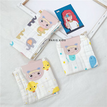 Two baby towels, pure cotton gauze, small towels, baby mouth towels, neonatal supplies, facial wash and bathing children