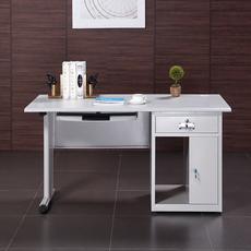 1.2米1.4米1.6米钢制办公桌铁皮电脑桌子现代简约办公家具写字台