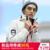 户外冲锋衣女潮牌2018新款秋冬三合一加绒加厚外套可拆卸登山服男