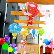 商场幼儿园吊饰环境布置教室走廊家居装 饰品卡通灯笼创意空中挂饰