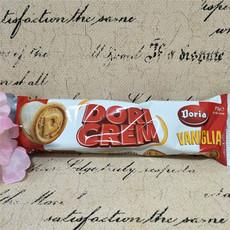 临期价 多莉亚香草味夹心饼干 意大利进口食品 75克