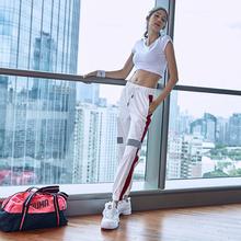 运动套装女速干休闲宽松显瘦两件套2018新款瑜伽衣跑步训练健身服