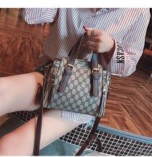 跃典包包女2018新款时尚女包百搭小包迷你斜挎包单肩手提包水桶包