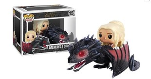 Game Of Thrones Daenerys & Drogon Funko Figures Toy Statue