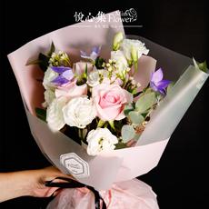 七夕鲜花速递同城花店送花生日约会玫瑰鲜花花束武汉北京上海广州