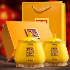 铁观音茶叶礼盒装安溪浓香型高山新茶散装送礼瓷罐茶礼乌龙茶