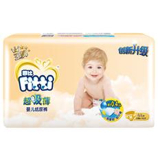 菲比 超吸薄中码纸尿裤M44片 男女通用婴儿尿不湿
