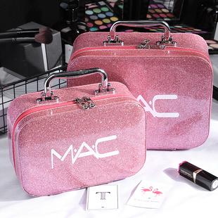 女化妆包大容量小号便携韩国简约可爱洗漱品收纳盒大号化妆箱手提