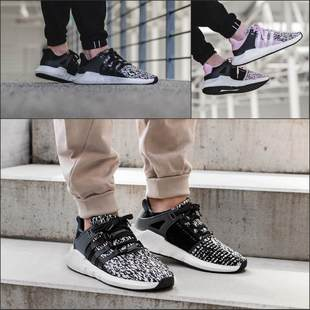 海外购正品adidas Originals EQT Support 93/17 男休闲跑步鞋