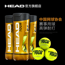 HEAD Head Tennis Initial Training Ball CTA Competition Use the Ball to Practice Non-rope Tennis Golden Ball Single